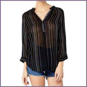 ⭐️ Michael Stars Beach Stripe Easy Tunic Size XS